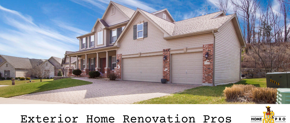 exterior home renovation Woodbridge