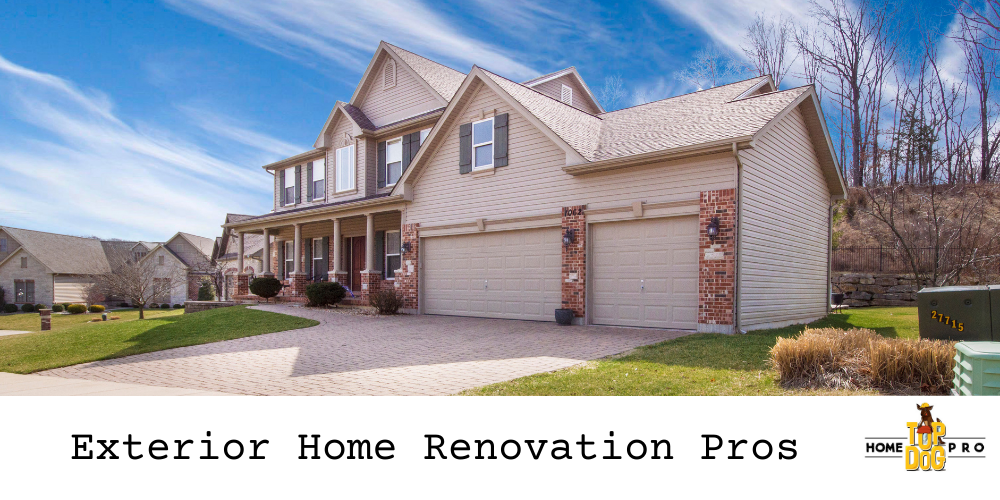 exterior home renovation Woodbridge