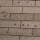 Hail Damage Woodbridge, VA   Damaged roof repair in Woodbridge, VA New shingle installation