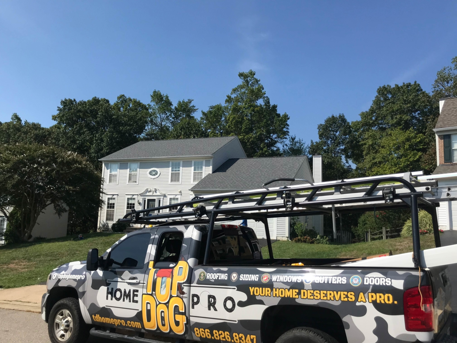 Top Dog Home Pro roofing replacement SPECIALISTS woodbridge va