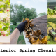 exterior cleaning checklist