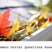 gutter questions