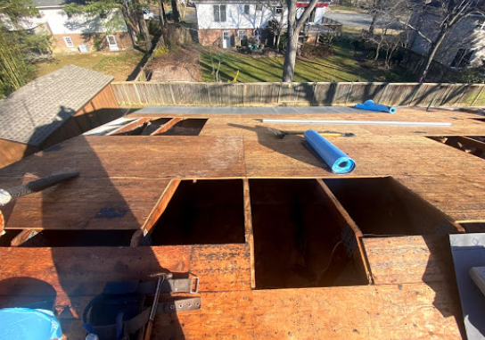 roof decking replacement