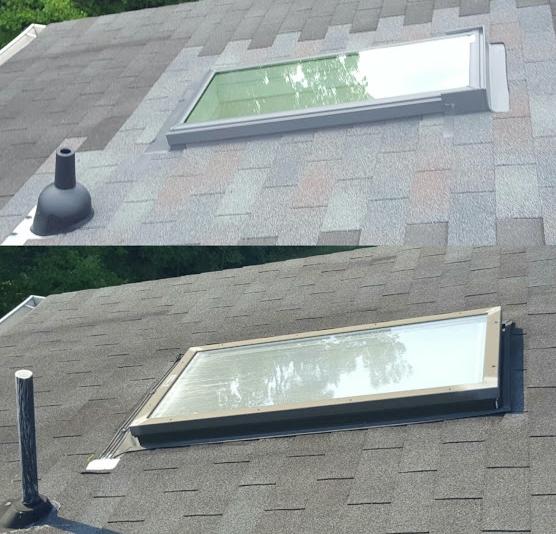 skylight roof repair