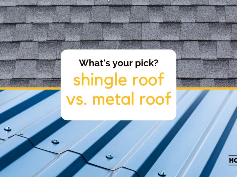 shingle vs metal roof