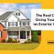 average exterior remodeling costs