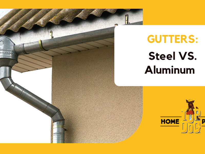 steel vs aluminum gutters