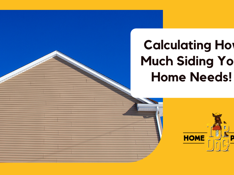 how to measure your siding