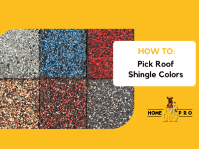 how to pick roof shingle colors